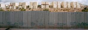 Westbank, Bili'in Village, besetzte palästinensische Gebiete, 2010.