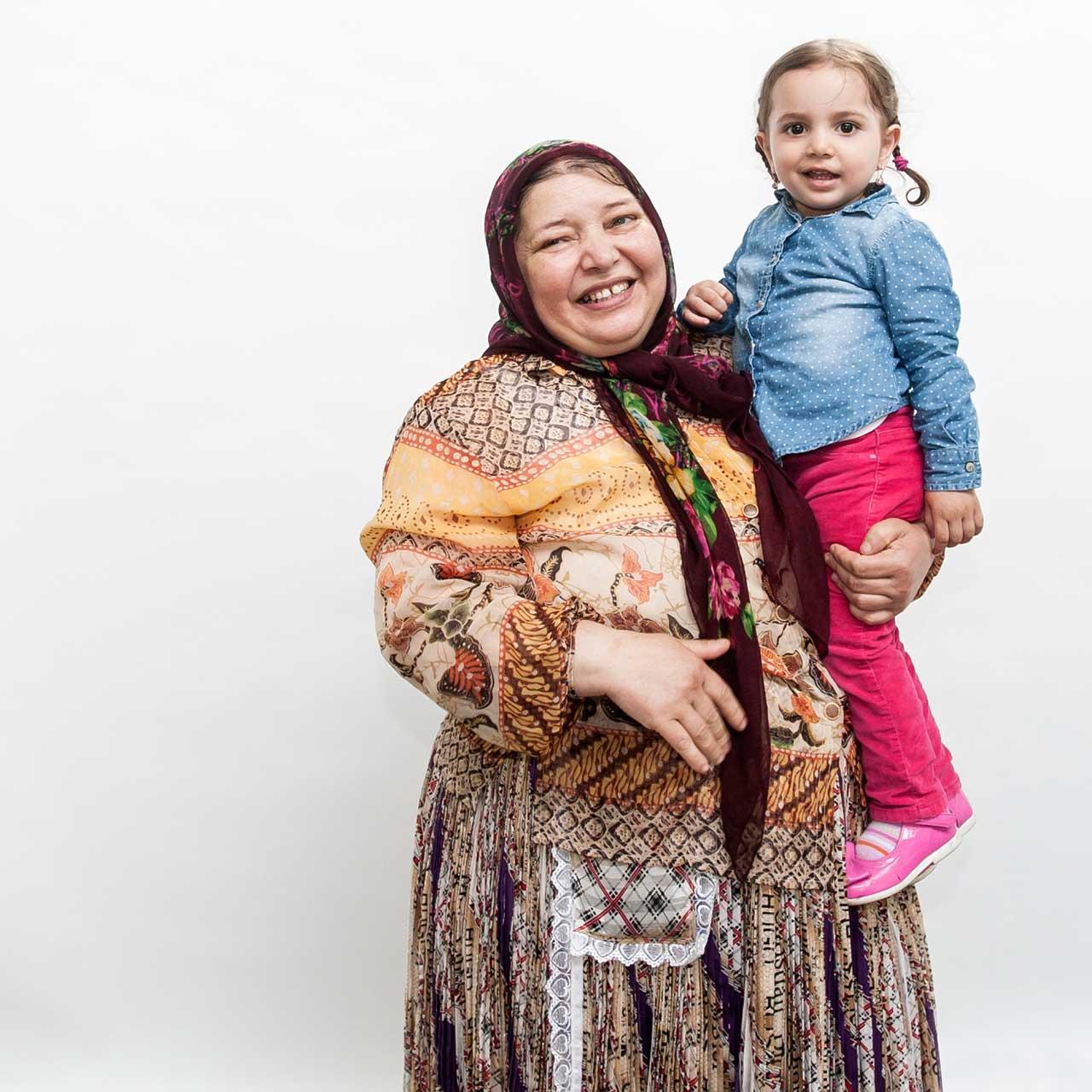 Borys Piotr Sarad beschäftigte sich in seiner Porträtserie mit familiären Strukuren der Roma.