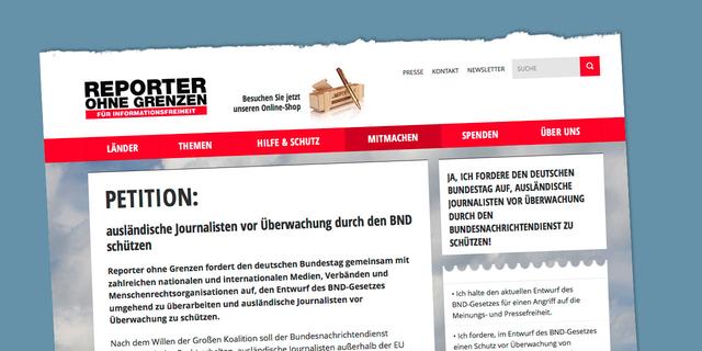 Die Unterzeichner des Aufrufs betonen, dass Spionage gegen Journalisten – egal wo auf der Welt – ein Angriff auf die Pressefreiheit ist.