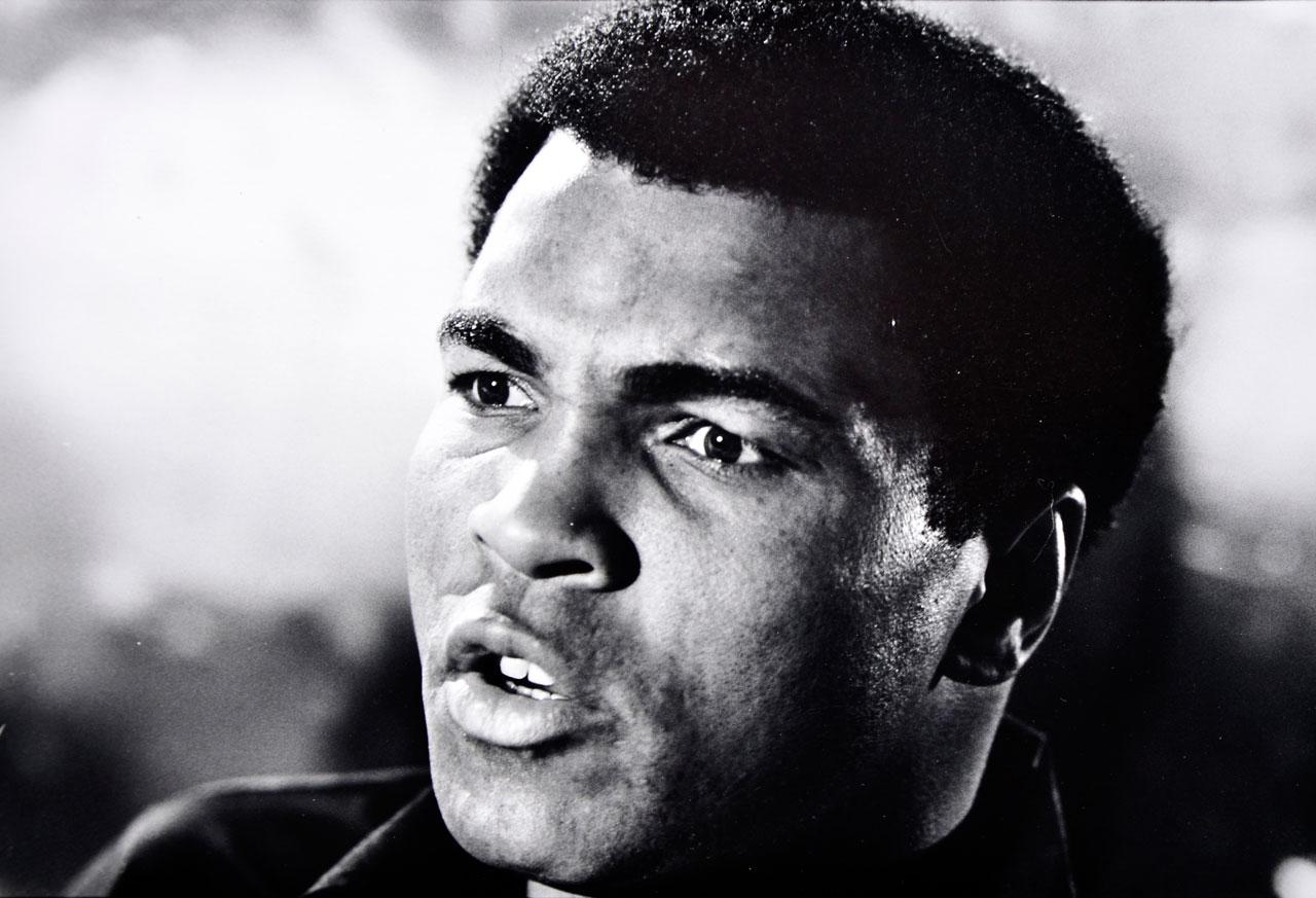 Muhammad Ali, 1976.