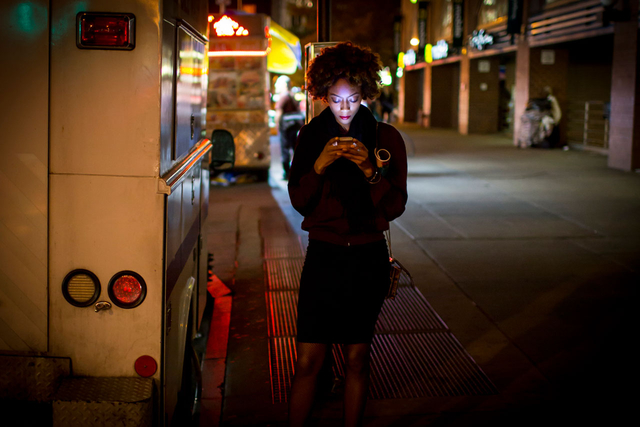 Aus der Serie »International Express NYC«.