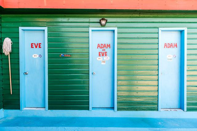 Bild 11: Toiletten auf Anegada, Britische Jungferninseln.