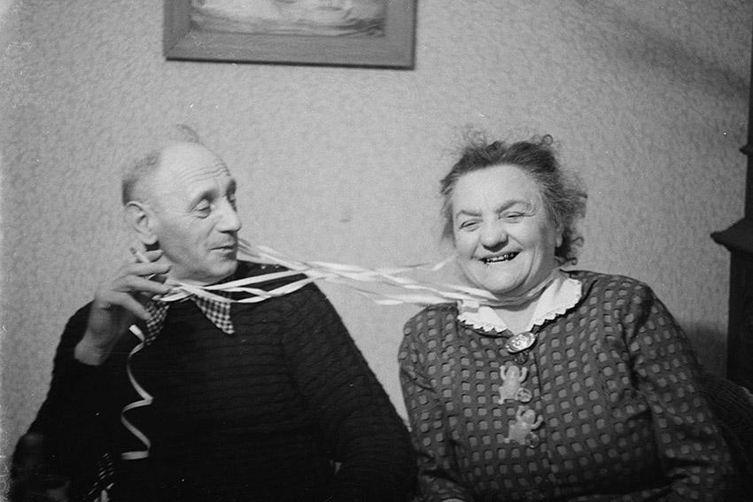 In ihrer Arbeit »Zurück« zeigt Nora Klein auch Aufnahmen ihres Großvaters aus den 50er Jahren.