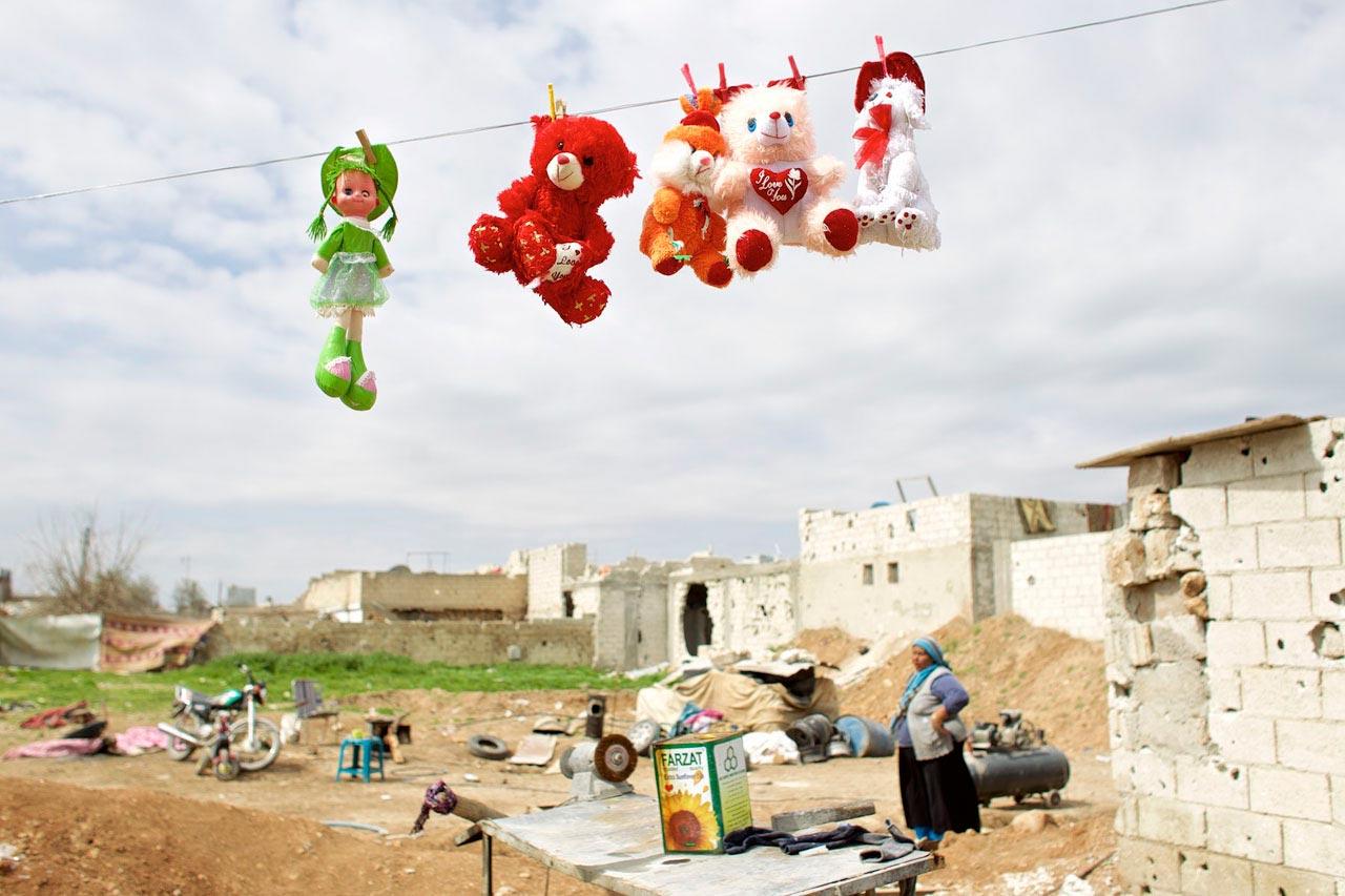 Aus der Ausstellung »Back to Rojava«.