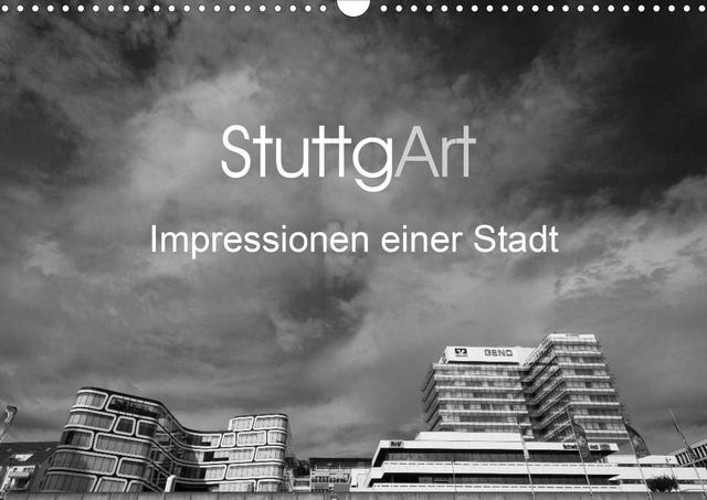 Der Kalender »StuttgArt – Impressionen einer Stadt« zeigt eindrucksvolle Architekturaufnahmen aus einer lebendigen Stadt.