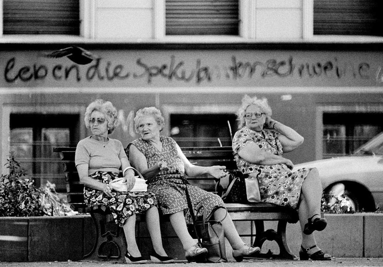 Drei Omas, 1983.