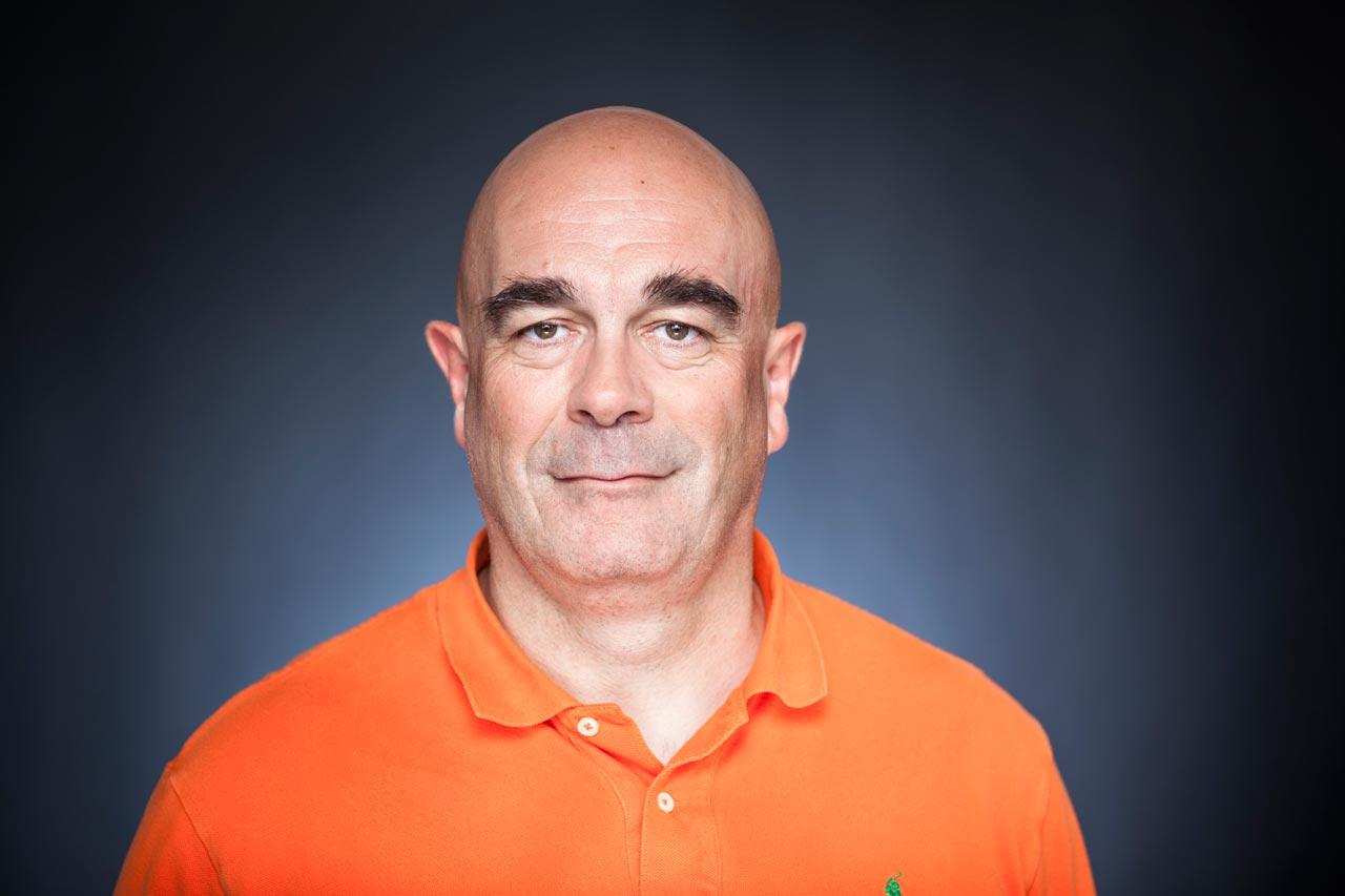 Rüdiger Wölk, Schatzmeister und seit 2013 Vorstandsmitglied.