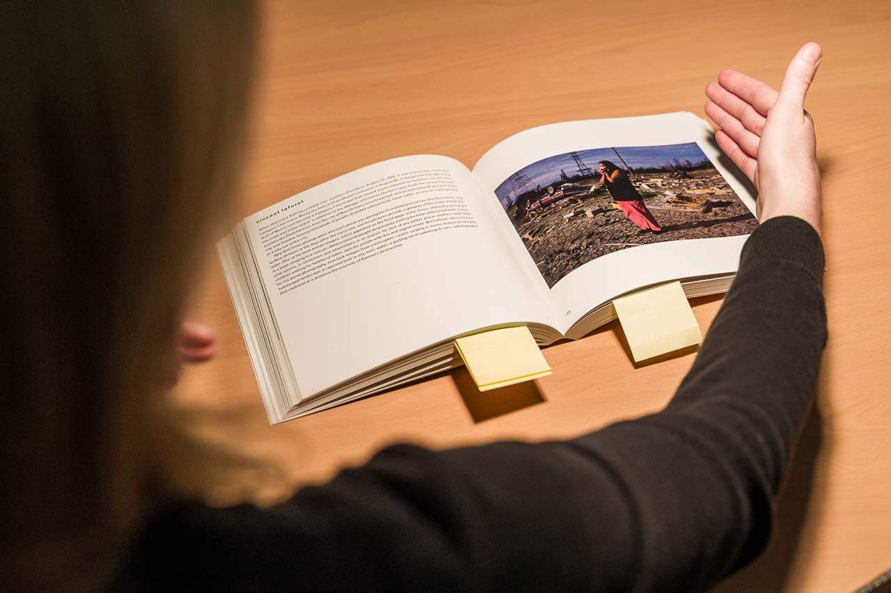 …und wie durch die richtige Gestaltung aus guten Büchern besondere Bücher werden können. Foto: Johannes Arlt