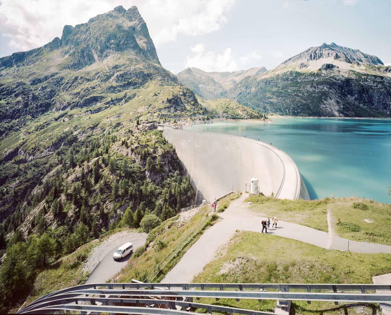 Lac d'Émosson, Schweiz,