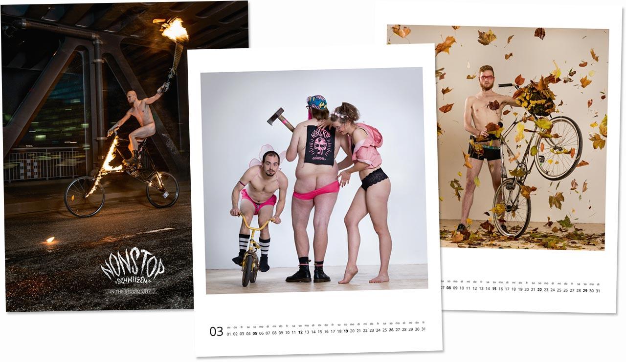 Zu den zehn ausgezeichneten Fotokalendern gehört auch »Nonstop Schiwtzen« mit Fotografien von Julia Kneuse.