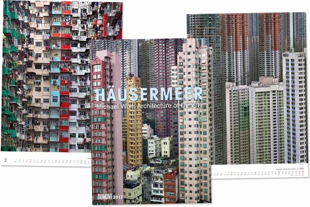 »Häusermeer« mit Fotografien von Michael Wolf wurde als bester Fotokalender 2017 ausgezeichnet.
