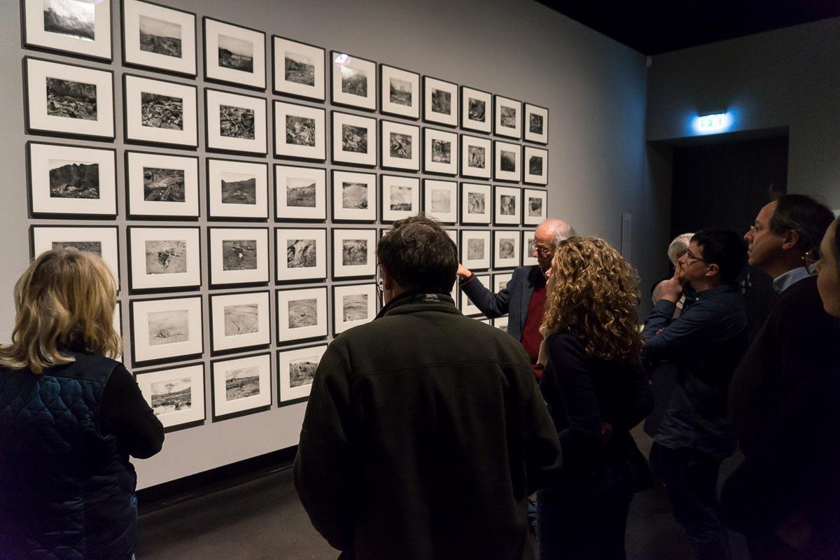 Bilder aus der Arbeit »San Quentin Point« von Lewis Baltz. Die Werkstatt für Photographie bot 1980 einen Workshop mit dem amerikanischen Fotografen an.