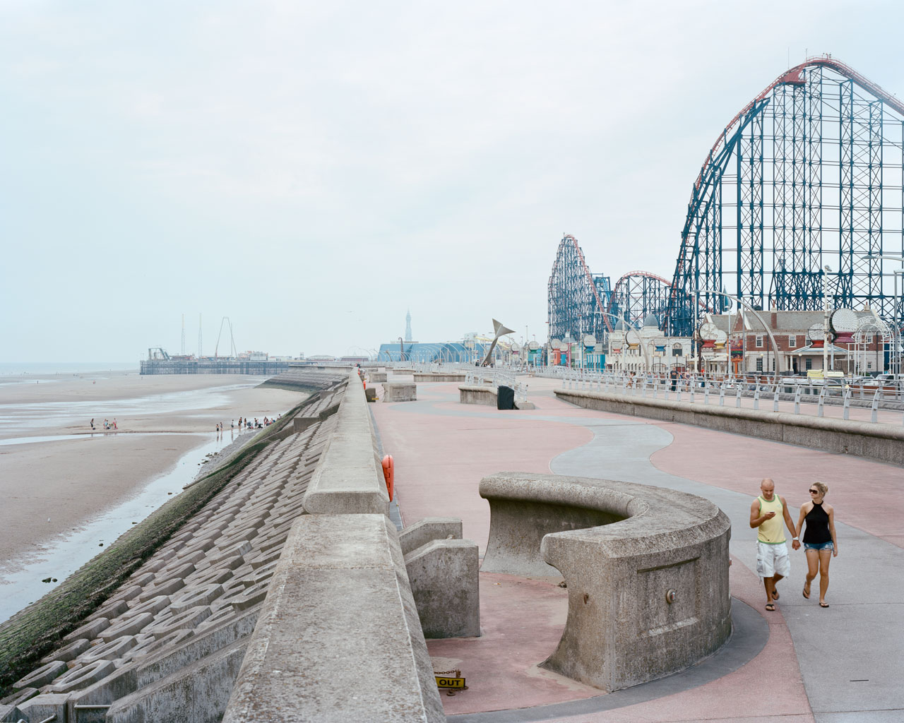 Blackpool, Großbritannien, 2014.