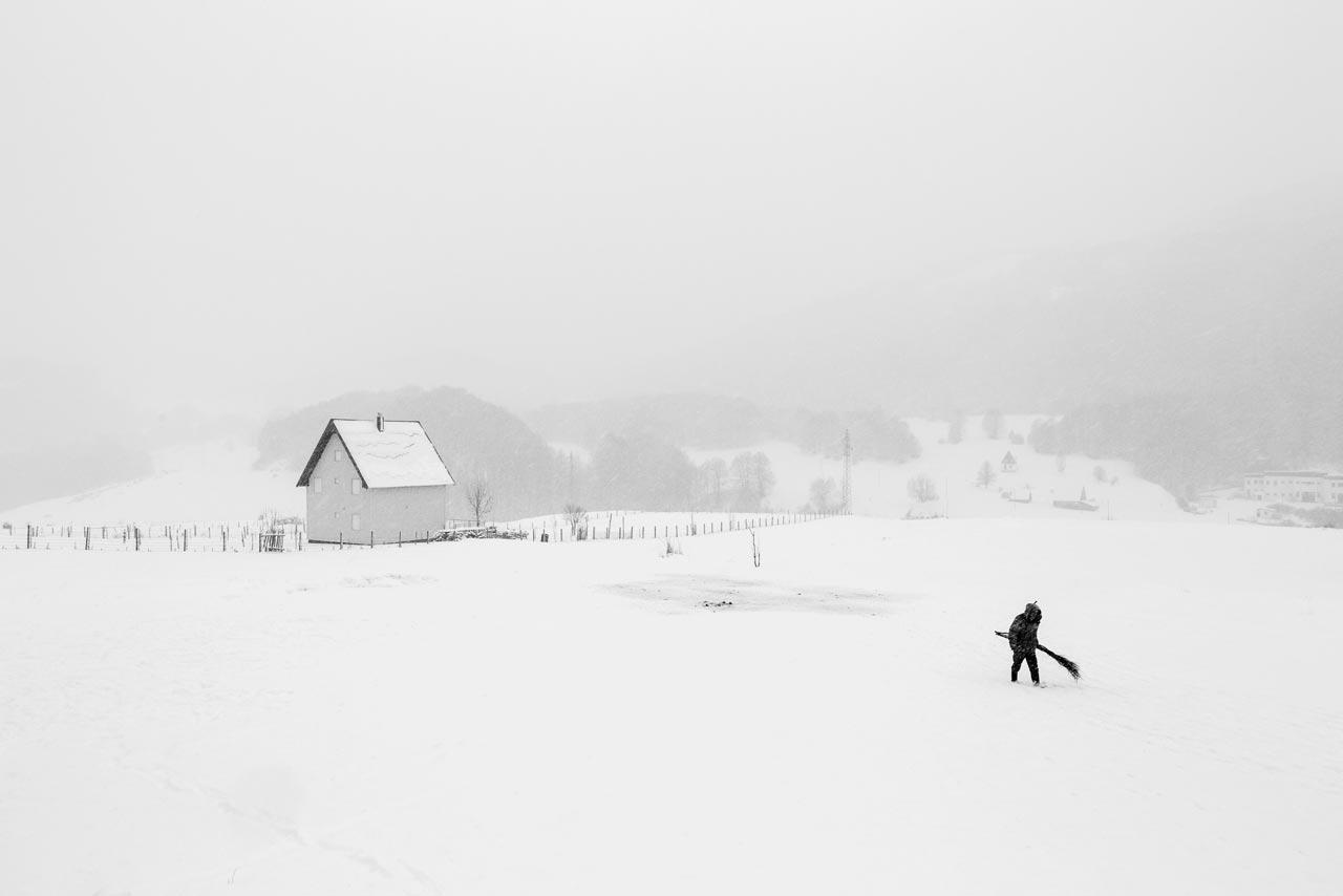 Der Belgier Frederik Buyckx wurde bei den Sony World Photography Awards mit seiner Serie »Whiteout« als »Photographer of the Year« ausgezeichnet.