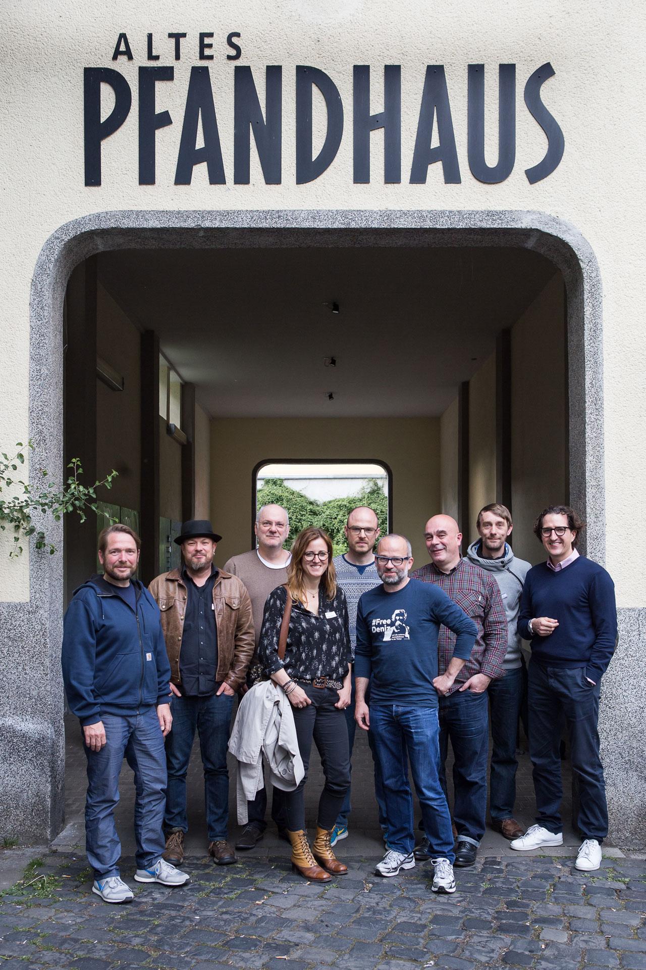 Eure Mitglieder im Vorstand: Janko Woltersmann, Bernd Lauter, Rainer F. Steußloff, Nicole Maskus-Trippel, Johannes Arlt, Roland Geisheimer, Rüdiger Wölk, Kay Michalak und Thorsten Jochim.