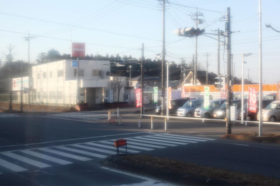 Aus der Serie Tsukuba-Narita 2011/03/13, Motiv #1