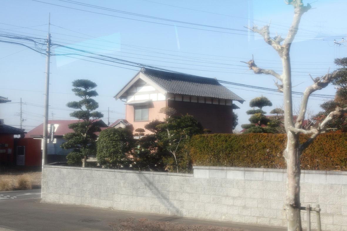 Aus der Serie Tsukuba-Narita 2011/03/13, Motiv #43