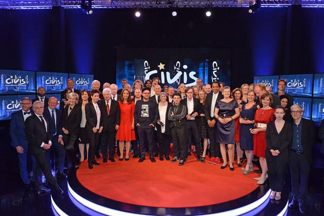 Die Preisträger*innen des CIVIS Medienpreises für Integration 2017.