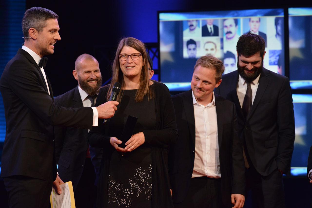 Der European CIVIS Online Media Prize 2017 in der Kategorie Webangebote geht an Andrea Röpke, Kubikfoto Studios und BAFF für die Seite »Kein Raum für Rechts«.