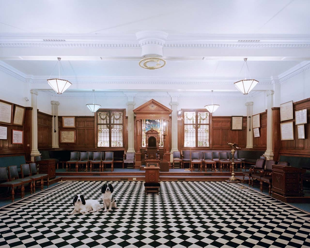 Tempel der »Provincial Grand Lodge of Yorkshire«, Bradford, England, 2015.
