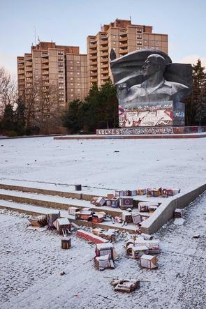 Ernst-Thälmann-Denkmal, Prenzlauer Berg, Januar 2017.