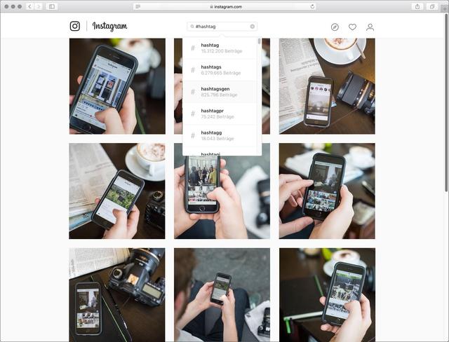 Die Bilderflut auf Instagram lässt sich durch Hashtags ordnen, doch welche Regeln sollten dabei beherzigt werden?