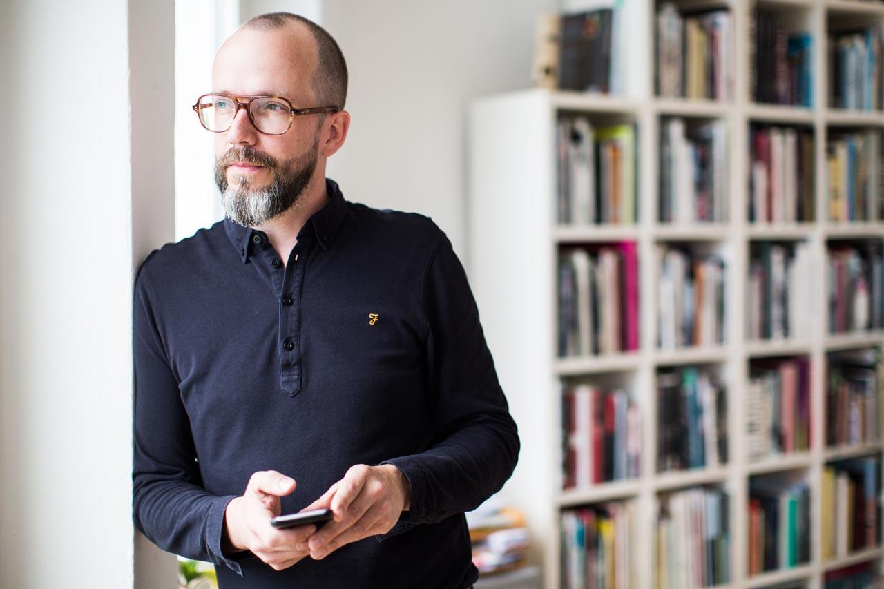 »Soziale Netzwerke haben zwar ihre Vorteile – doch am Ende geht für mich nichts über den persönlichen Kontakt.« Lars Lindemann, Foto Director Geo.