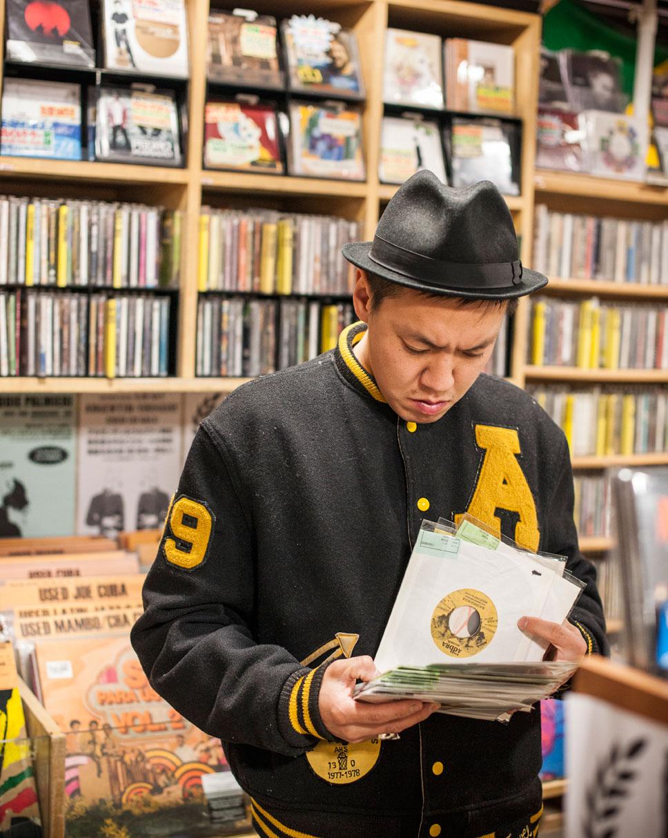 Shinjuku Disk Union, Tokio.