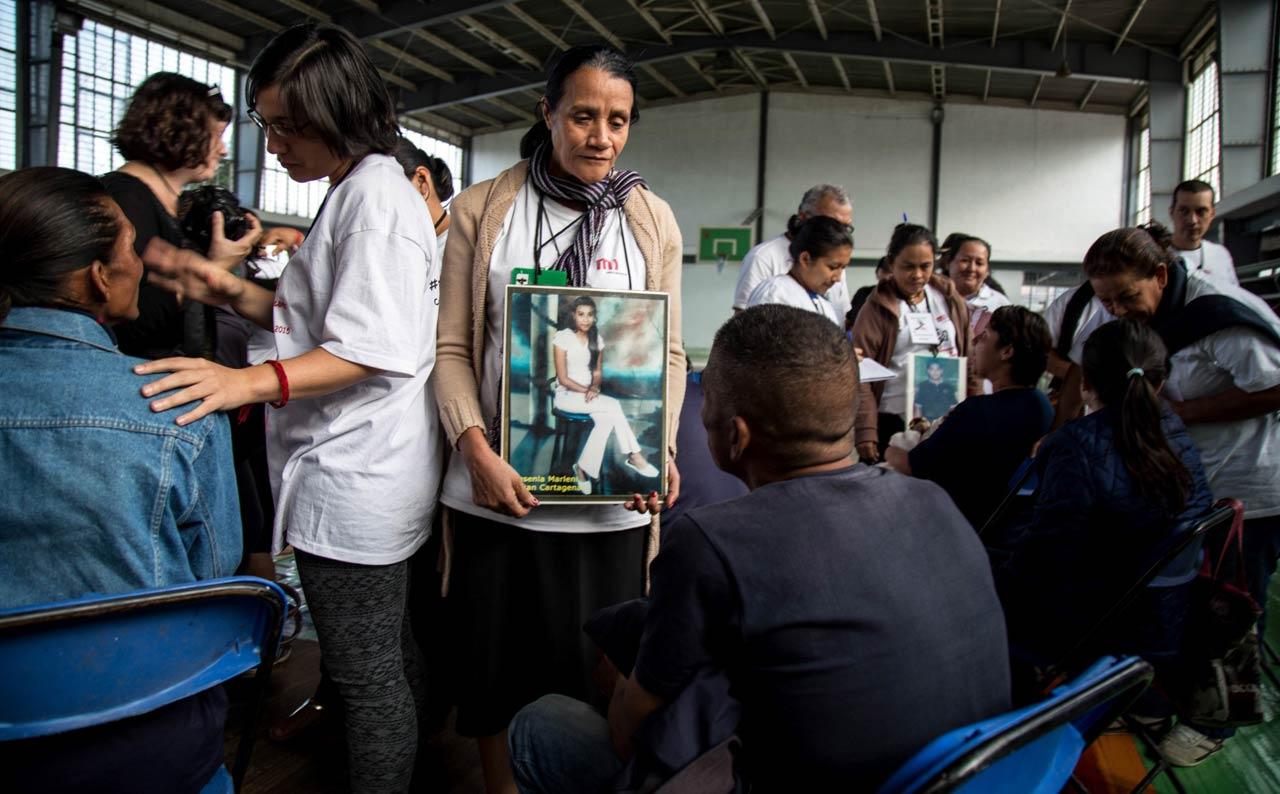 @everydamigration – Die »Karawane der Mütter« sucht nach ihren in Mexiko verschwundenen Kindern. Unter ihnen auch die Honduranerin Priscila Cartagena, die 2007 das letzte Mal etwas von ihrer Tochter gehört hat.